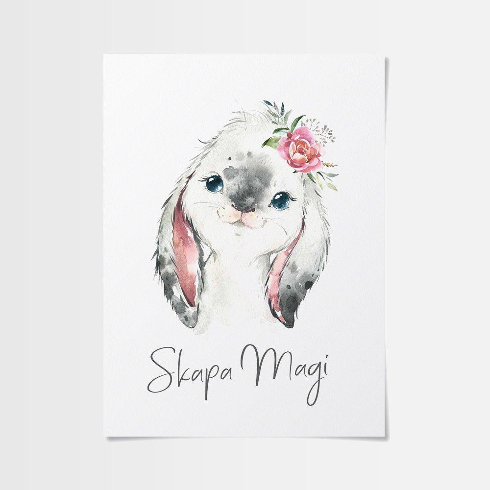 Desenio posters eller en unik kanin?