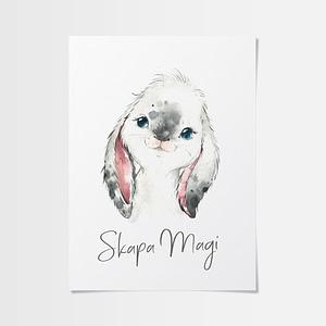 Ikea tavlor eller en unikt söt kanin?